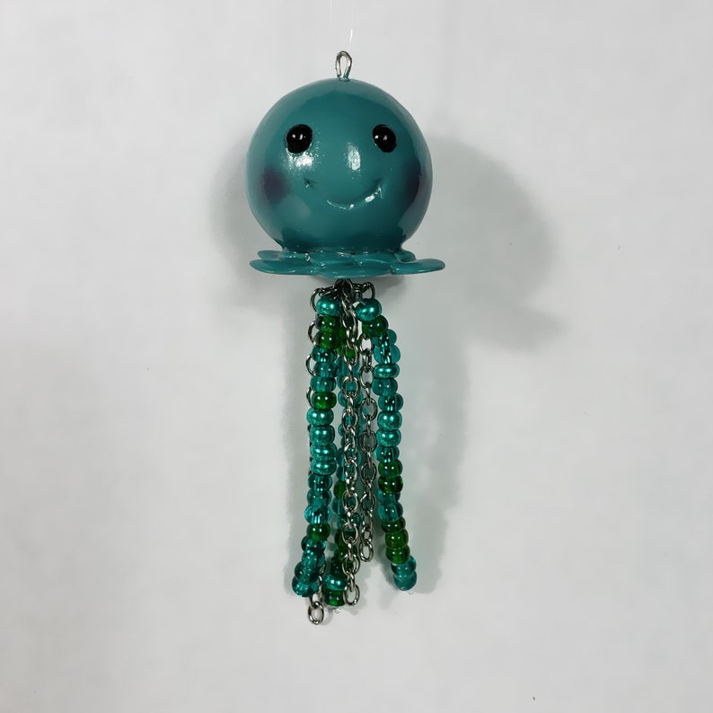 Jellyfish Polymer Clay Charm image 0
