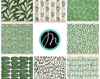 Designer Curtains Drapery Panels Pine Green Window Drapes Treatments Custom Bedroom Shades Valance