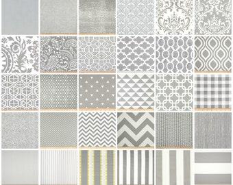 Modern Valances- Storm Grey Valance- Gray Decorative Valance- Custom Valance- Add Pleats & Lining- Kitchen Cafe Panel- Single Short Curtain