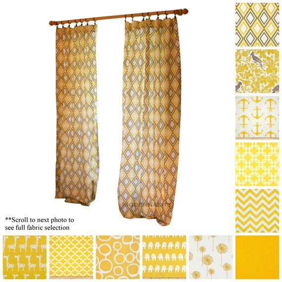yellow curtain panels pale yellow image modern curtains drapery panels corn yellow window etsy