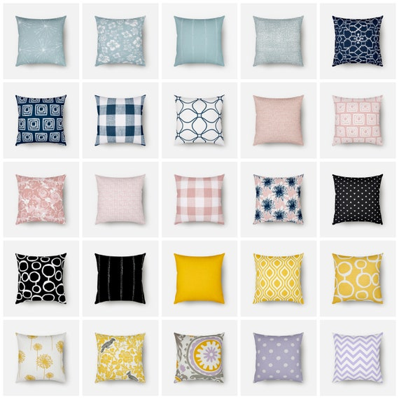 CLEARANCE Mix and Match Throw Pillow
