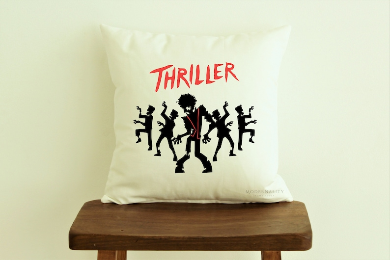 Halloween Throw Pillow Thriller Pillow