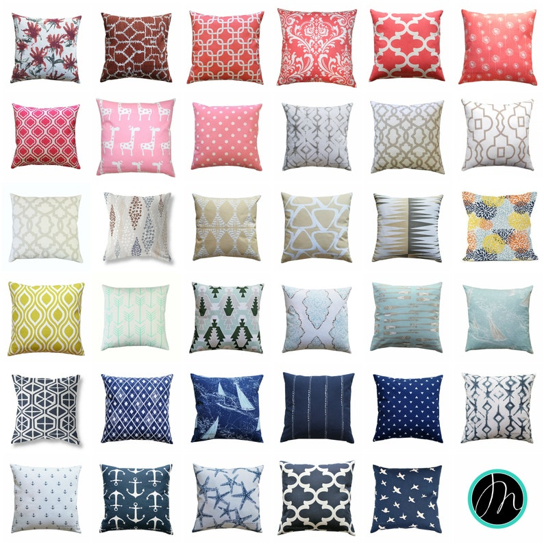 a013f1f535a CLEARANCE Throw Pillows Decorative Pillow Cover 16x16