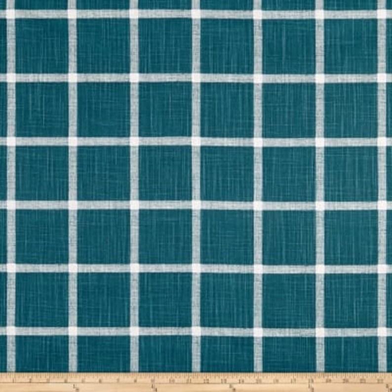 Window Curtains Teal Curtains Add Pleats Drapery Panel Pair Turquoise Drapes Slub Canvas Bedroom Curtains Plantation Blue Curtains