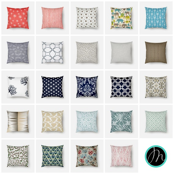 Throw Pillow Covers 16x16 10 More Sizes