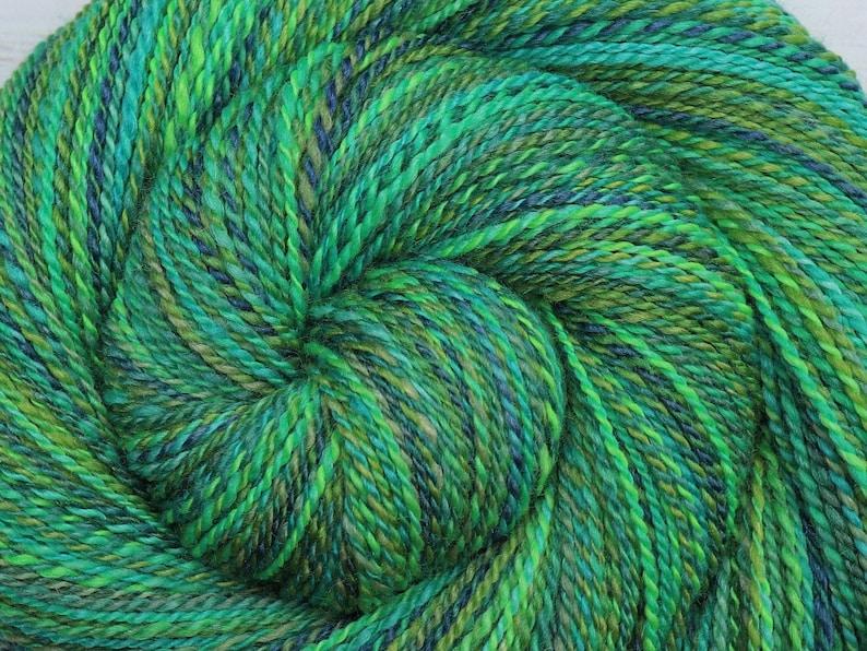 Multi-skein Fingering Weight Handspun Yarn  SEA LIFE  image 0
