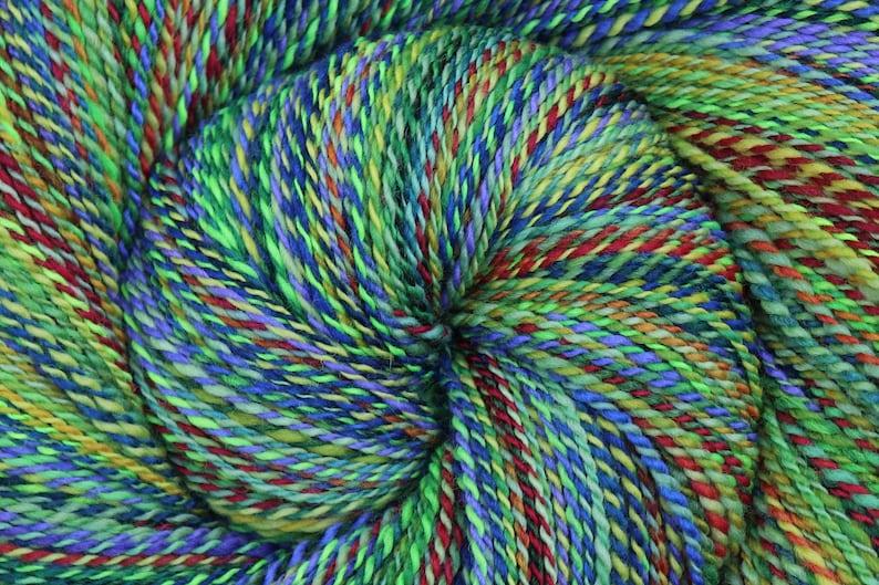 Jumbo Shawl-Length Skein Handspun Yarn Fingering weight  image 0