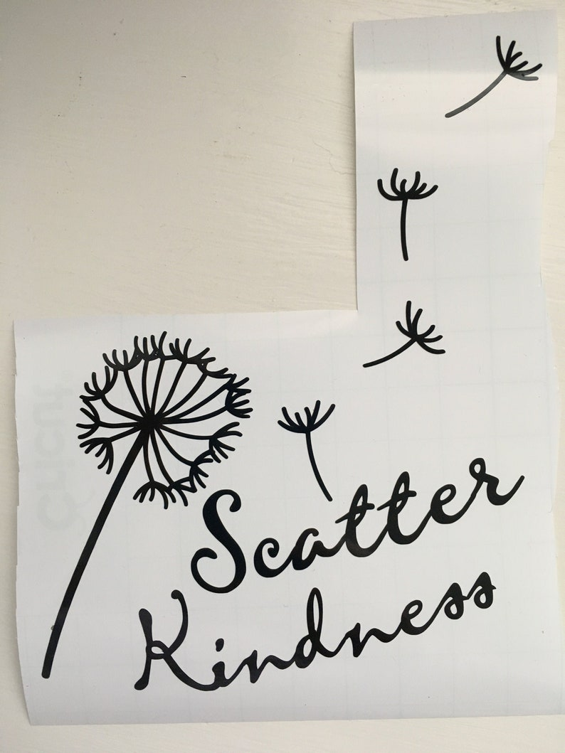 Scatter Kindness Decal