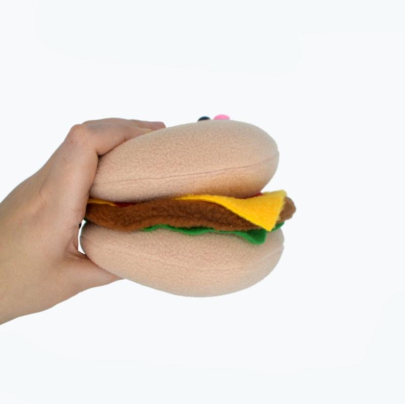 Giocattolo cheeseburger hamburger di di peluche hamburger KawaiiEtsy Panino al OZTlwPuXik