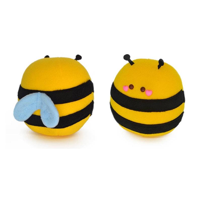 Honey Bee plushie  novelty stuffed animal bee soft toy