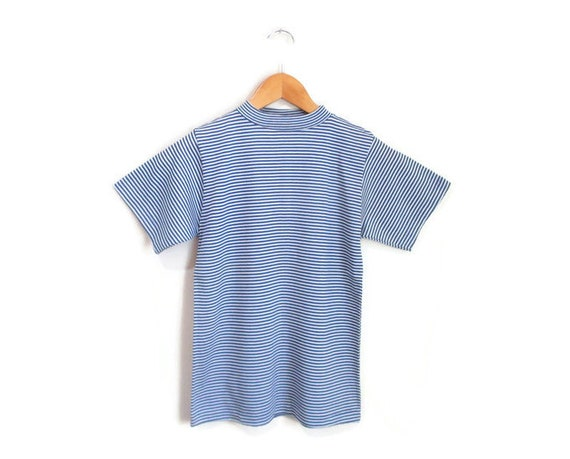Vintage 1960s Striped Tshirt | NOS Never Worn 196… - image 2