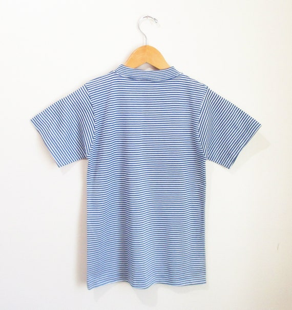 Vintage 1960s Striped Tshirt | NOS Never Worn 196… - image 4