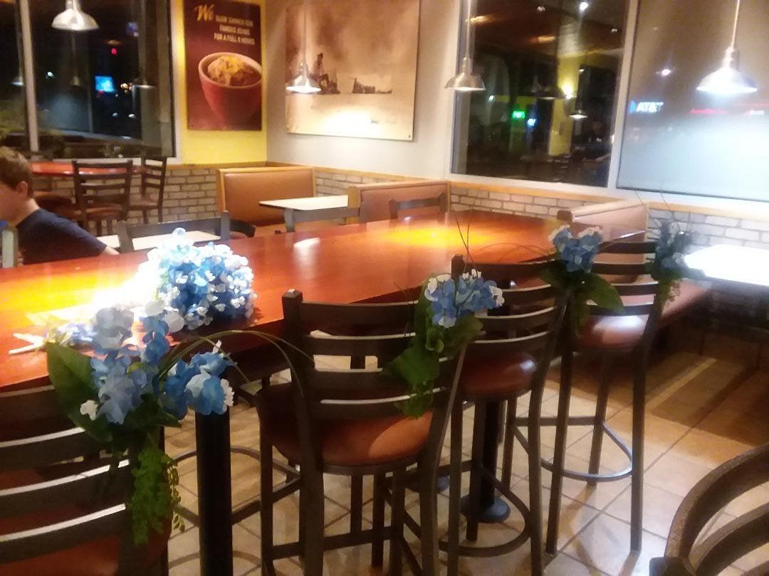 Wedding Aisle Pew Bouquet Texas Bluebonnet Bridal Wedding Silk