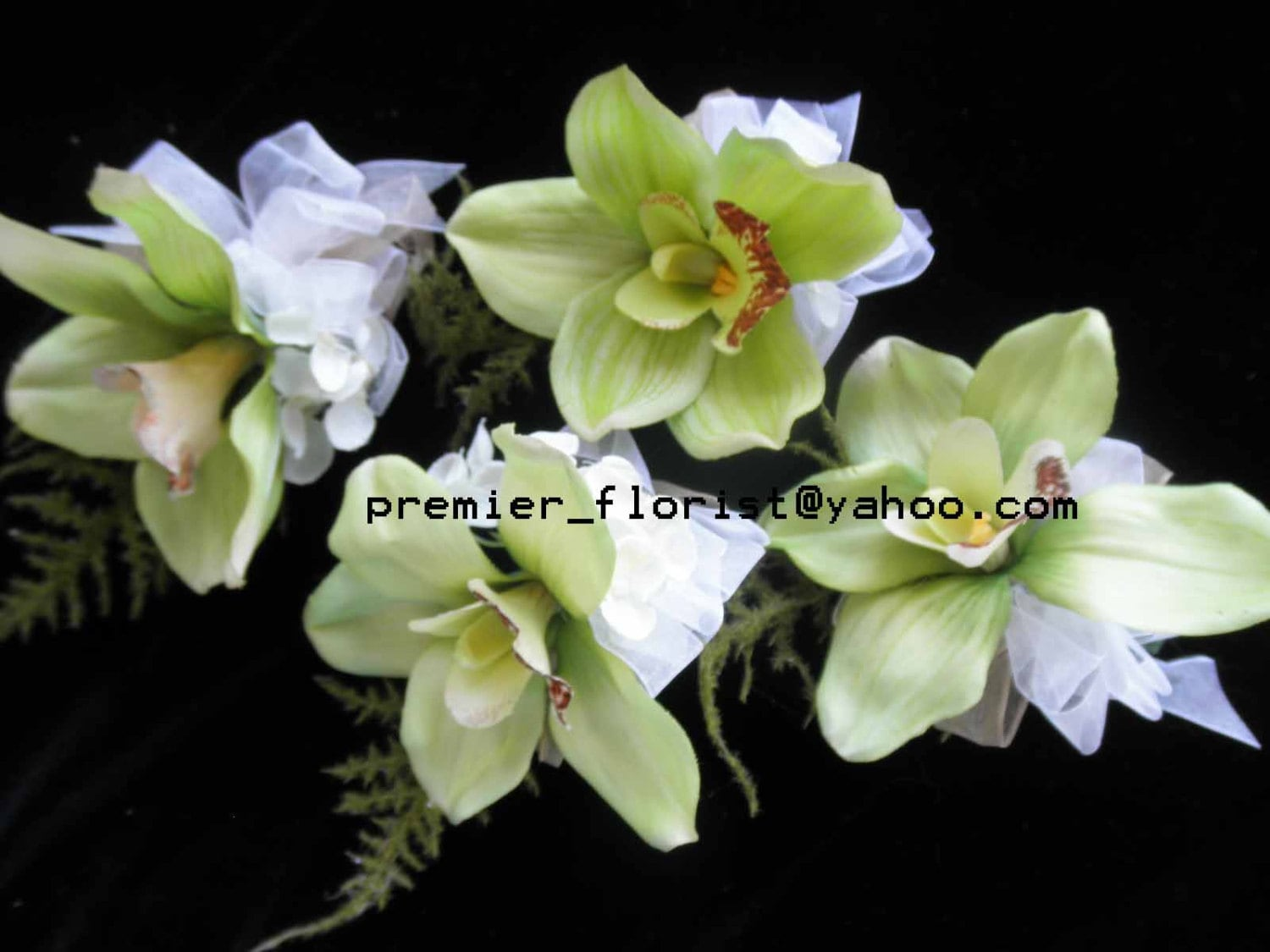 2 3 Or More Orchid Corsages Lime Green Or Fuschia Magenta Hot