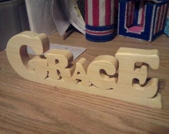 Grace (word art)