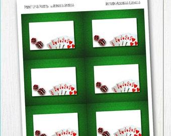 Printable themed NAME TAGS - You choose the Theme - Digital file DIY Name Badges