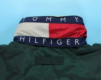 tommy patch jacket etsy