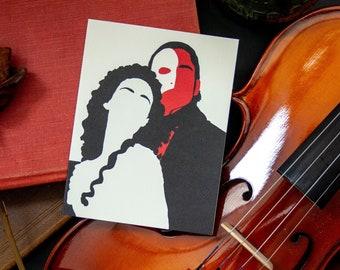 Phantom of the Opera valentine anniversary card
