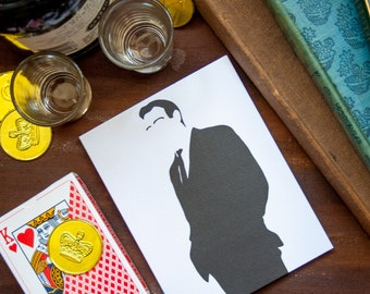 James Bond, Sean Connery Birthday card