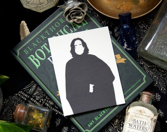 Severus Snape Slytherin valentine anniversary card