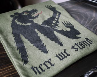 game of thrones the flayed man house bolton tee shirt. Black Bedroom Furniture Sets. Home Design Ideas