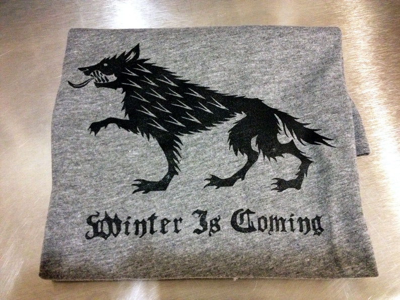 Game of Thrones // Winter is Coming // Unisex Tri-blend Tee image 0