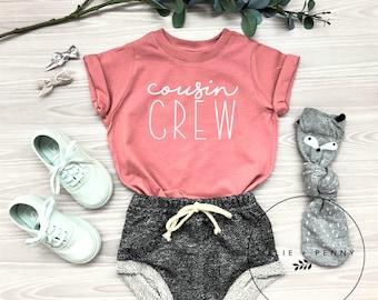 203a4b8a4 Cousin Crew Shirt // Big Cousin Shirt, Little cousin onesie®,Biggest Cousin  shirt, Bigger Cousin shirt, pregnancy announcement, Mauve Shirt