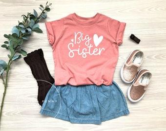 5d2190184d6 Big Sister Shirt    Lil  Sister Shirt