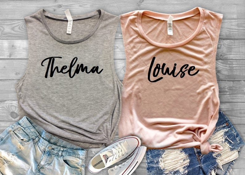 a7d8df7f Thelma and Louise /Best friends forever BFF Bridesmaid | Etsy