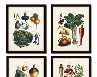 Vegetable Wall Art | Etsy
