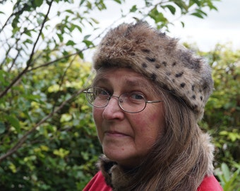 STOCK CLEARANCE! 19th Century Russian Inspired  Womens Fur Cossack Hat