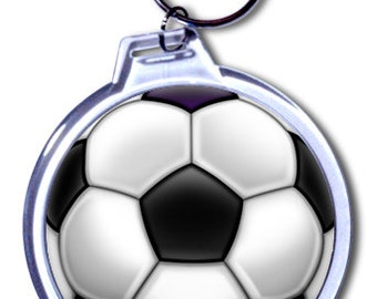 Personalized Soccer Ball Keychain - 2 Size Choices 05f5a6d316