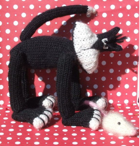 Knitted Cat Pattern Buy 2 Patterns Get 1 Free Etsy