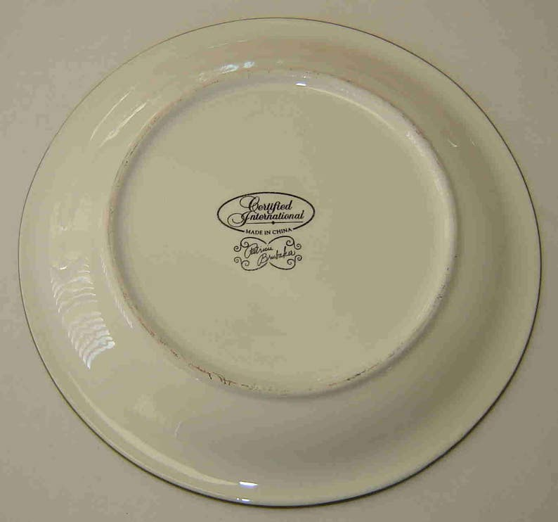 Asian dinnerware brubaker 2000 white plates
