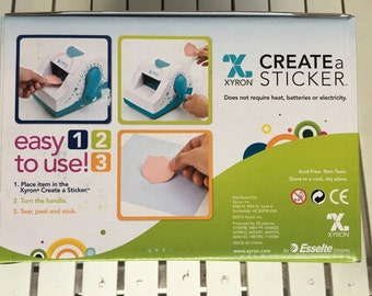 Xyron Create A Sticker 250, 2.5 inch Tape, great for planners, cardmaking, scrapbooking, art journaling, mixed media, mini albums and more