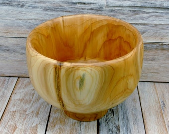 Wooden Centerpiece Bowl - Cedar Log Bowl - Log Bowl - Rustic Bowl - Hand Carved Bowl - Fruit Bowl - Cedar Bowl