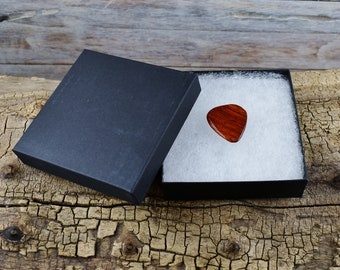 Gift Box - Gift Box for Guitar Picks and Pocket Knives - GIFT BOX ONLY - 3 1/2 X 3 1/2 X 1