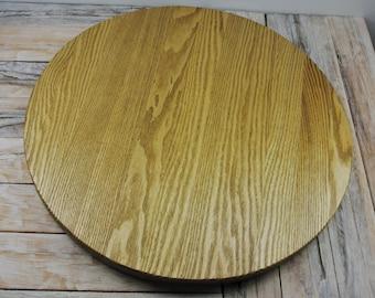 Wood Lazy Susan - Wood Lazy Susan - Catalpa - Wood Carving - Centerpiece - Wooden Lazy Susan