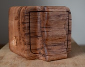 Australian wooden keepsake carved box