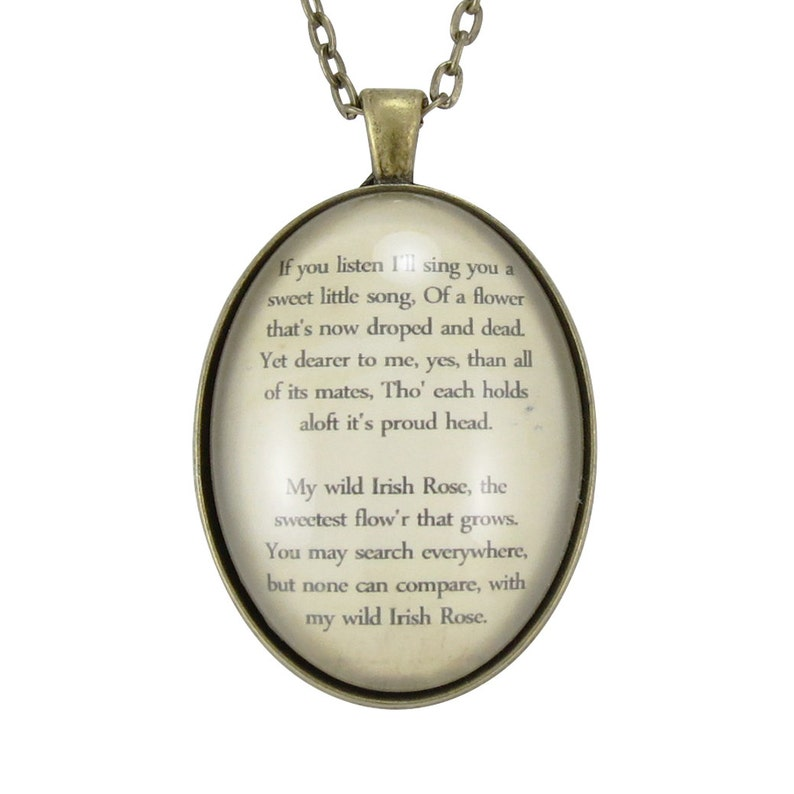 f3e588f7206e7 Custom Poem Necklace, Personalized Pendant For Song Lyrics Or Poem