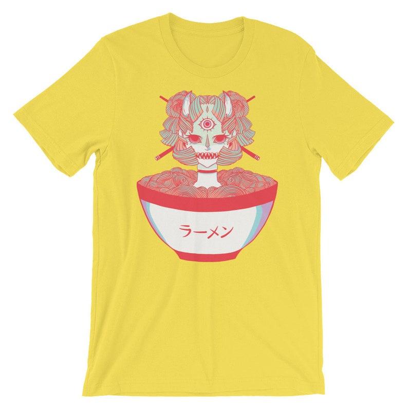 24110668e Monster Girl Ramen Noodle Anime T Shirt Manga Inspired | Etsy