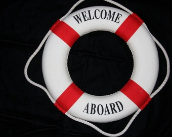7620fc68c38e 1) Welcome Aboard Sign