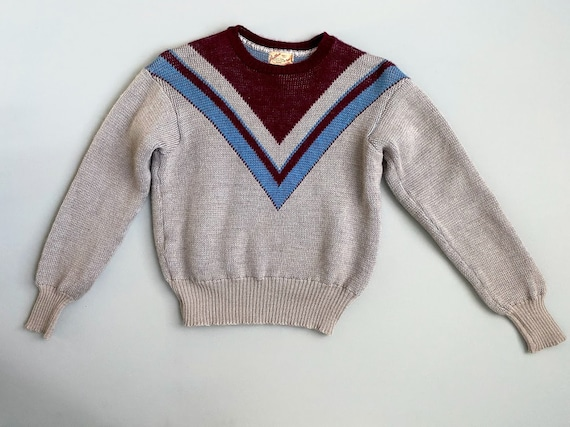 Rare 1940s Jantzen sweater . 40s vintage novelty k