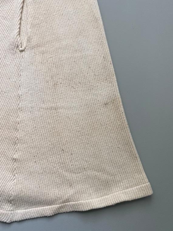 1930s knit cotton skirt . 30s vintage Swedish cou… - image 6