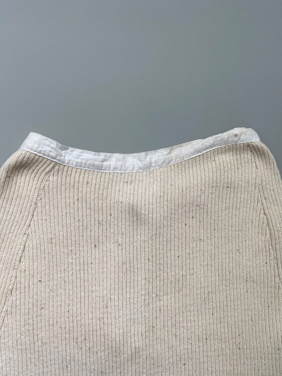 1930s knit cotton skirt . 30s vintage Swedish cou… - image 4