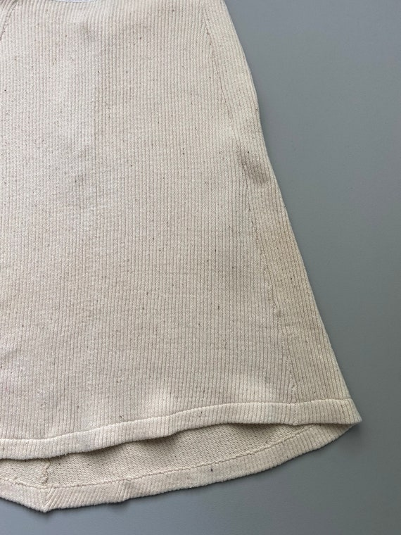 1930s knit cotton skirt . 30s vintage Swedish cou… - image 5