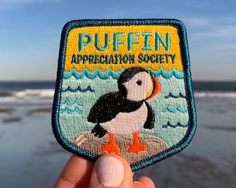Puffin Appreciation Society Patch (with optional membership kit)
