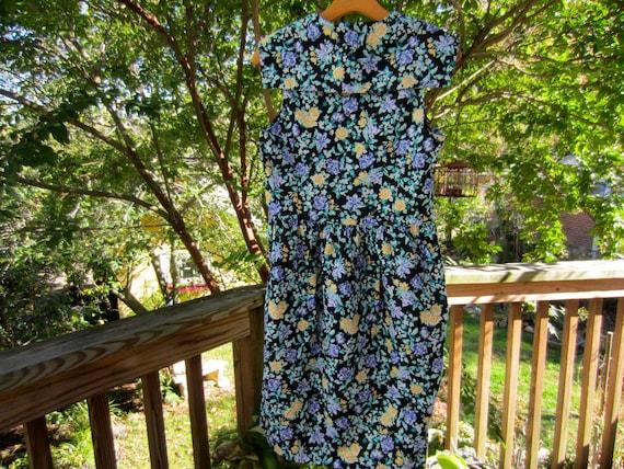LAURA ASHLEY Vintage Sailor Dress, Vintage 1990's… - image 4