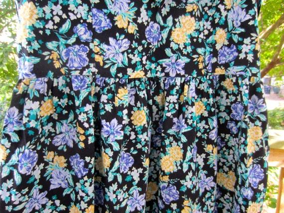 LAURA ASHLEY Vintage Sailor Dress, Vintage 1990's… - image 5