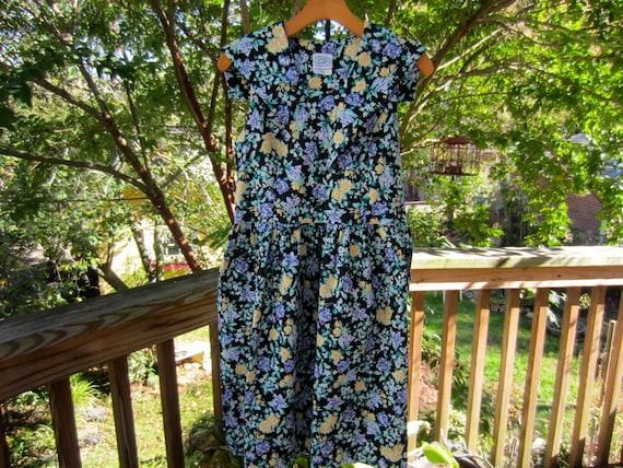 LAURA ASHLEY Vintage Sailor Dress, Vintage 1990's… - image 3